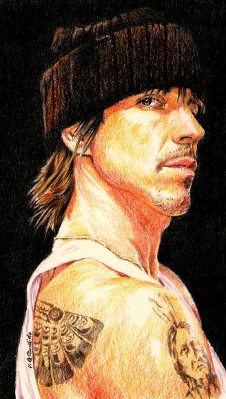 Anthony Kiedis par vividec